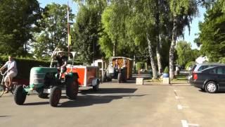 Von Schwäbisch Hall nach Meran mit dem Traktor - Zusammenfassung