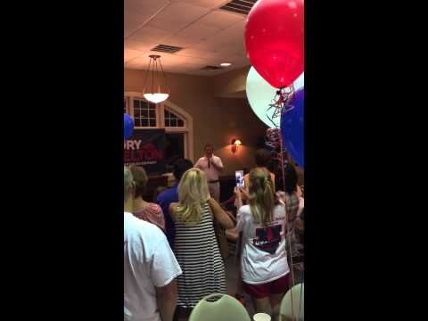 Cory Uselton acceptance speech for superintendent of education--DeSoto County Schools in Miss