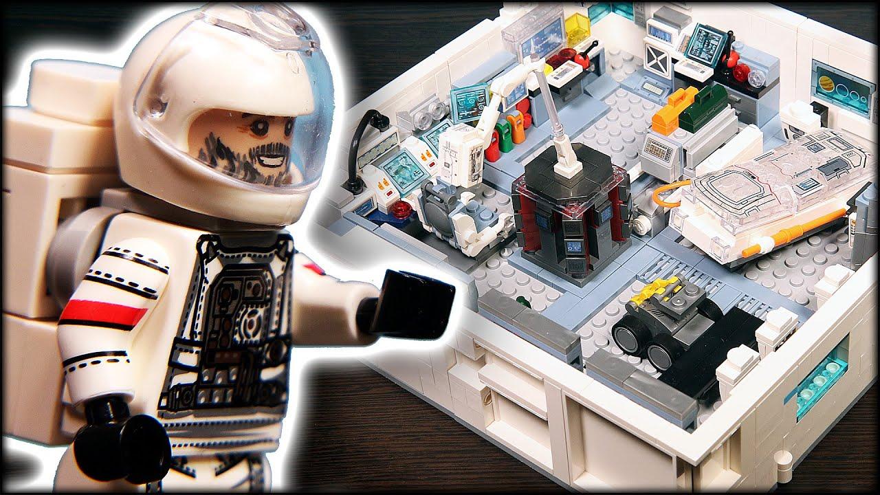 Космическая станция из Блуждающей Земли / Lego Wandering Earth