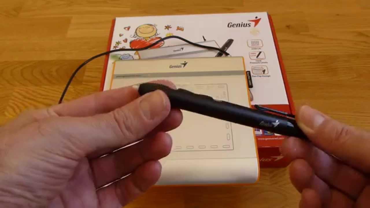 Genius Easypen i405 Tablet Review - YouTube