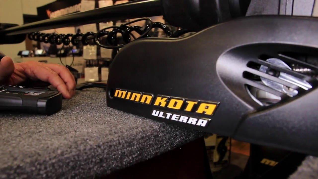 Minn kota ulterra trolling motor youtube for Cabela s advanced angler 120 trolling motor