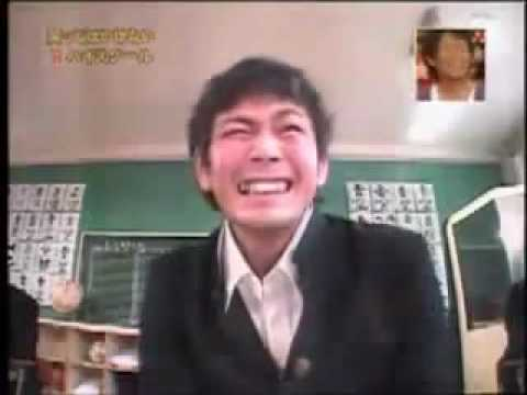 Funny Japanese School Laughter Test Pranks. Sacared & Crying