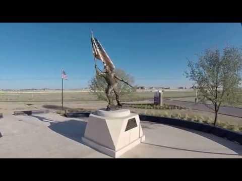 "Chris Kyle ""American Sniper"" Memorial @ Odessa Tx VA clinic"