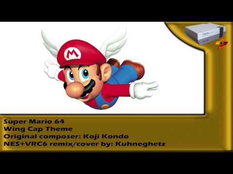 [NES+VRC6 Remix] - Super Mario 64 - Wing Cap Theme