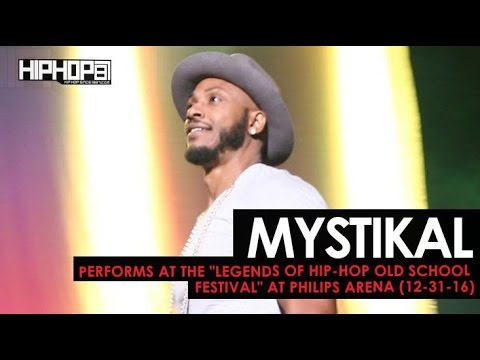 """Mystikal Performs at the """"Legends Of Hip-Hop New Year's Eve Old School Festival"""""""