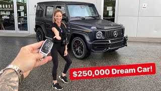 SURPRISING MY WIFE WITH HER DREAM CAR! *2020 G63 AMG*