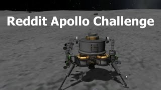 Kerbal Space Program - Apollo Style - Reddit Challenge