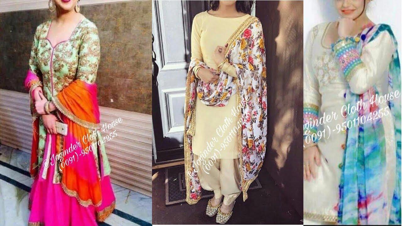 Designer Punjabi Suits Design