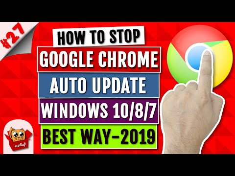 download How to Disable/Turn Off/Stop Google Chrome Auto Update - Windows 10/8/7/Vista