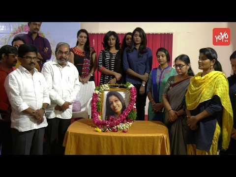 V6 Anchor Radhika Reddy Memorial Meet At Somajiguda Press Club | Hyderabad News | YOYO Cine Talkies