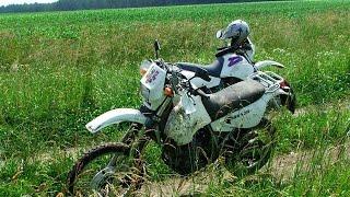 Belarus 2013 mit der Suzuki DR 650 durch Weißrussland