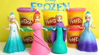 Vestido de Massinha de Modelar Play Doh Princesa Anna Frozen Disney