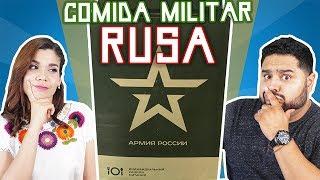 PROBANDO COMIDA MILITAR RUSA | TACOS O TOSTADAS | EL GUZII