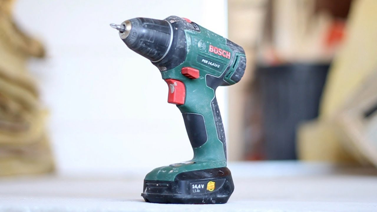 test de la perceuse visseuse bosch psr 14 4 li 2 youtube
