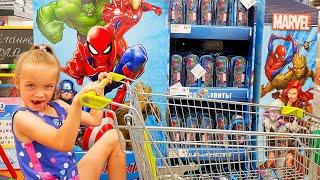 Эля Скупила весь МАГАЗИН Ради Ластерсов Marvel от ГИППО и Белмаркет/ FAMILY
