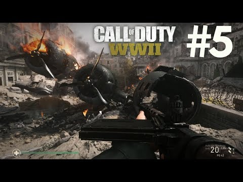 Call of Duty WW2 Walkthrough Gameplay Part 5 - Collateral Damage