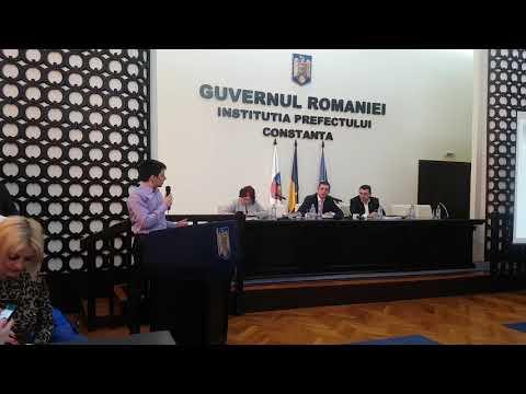 Andrei Mihai Tanase, contre privind reducerea de ransport pentru elevii constanteni cu Horia Tutuian