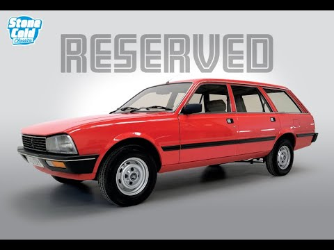 1982 Peugeot 505 GR Estate Automatic