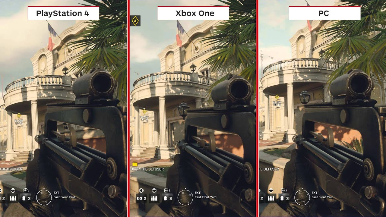 Best options for rainbow 6 siege graphics