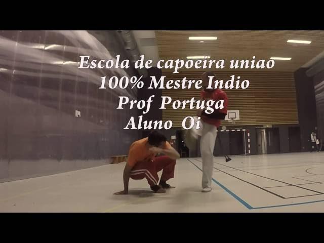 Escola de capoeira uniao 100% mestre indio -Professor Cristiano Portuga