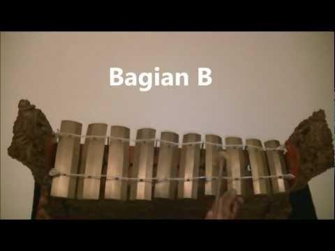 Belajar dasar Gamelan Baris / Learn basic of Gamelan Baris.