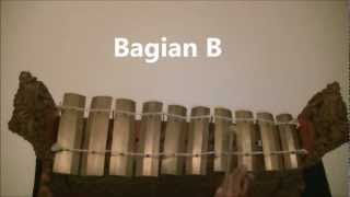 Belajar dasar Gamelan Baris / Learn basic of Gamelan Baris.