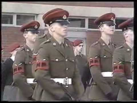 Royal Military Police, Pass Out Parade, 2 November 1988.