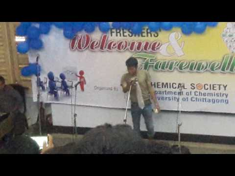 Comedy show,,,, chittagong university,,, chemistry department farewell 2017,,