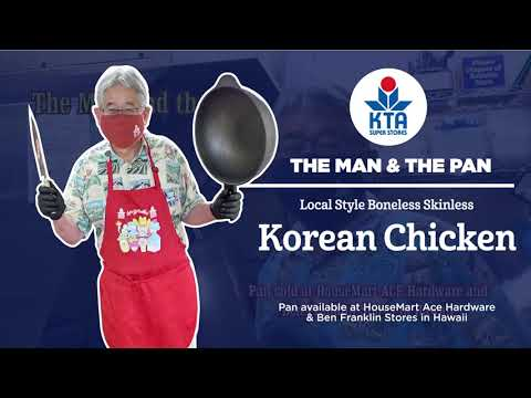 Man & The Pan: Local Style Boneless & Skinless Korean Chicken