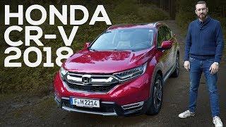 Al volante del nuevo Honda CR-V 2018 | Prueba