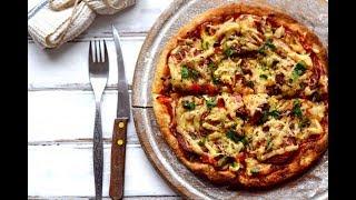 Пицца из готового теста в домашних условиях