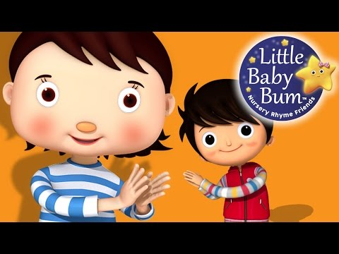 Clap Your Hands Song | Nursery Rhymes | By LittleBabyBum!