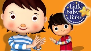 Clap Your Hands Song | Nursery Rhymes | By LittleBabyBum