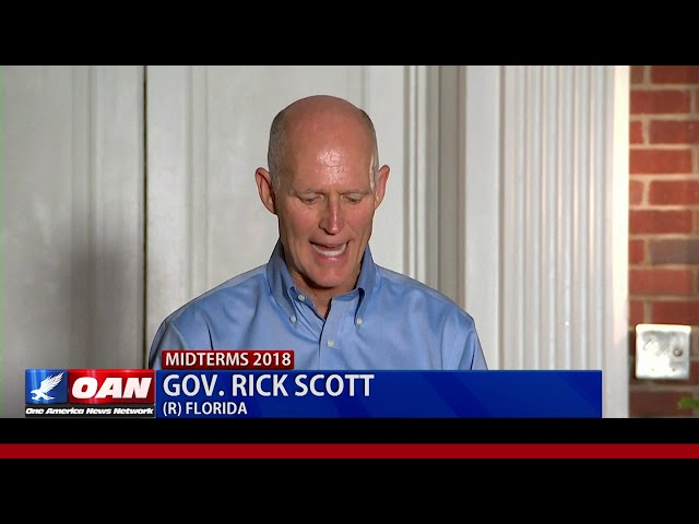 Fla. Gov. Scott: Democrats trying to use voter fraud to steal election