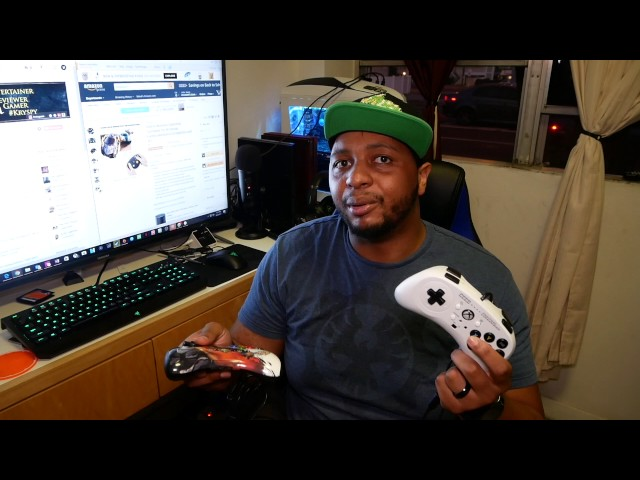 Hori Fight Commander for Xbox One + Nintendo Switch & SPLATOON 2 GIVEAWAY!!!