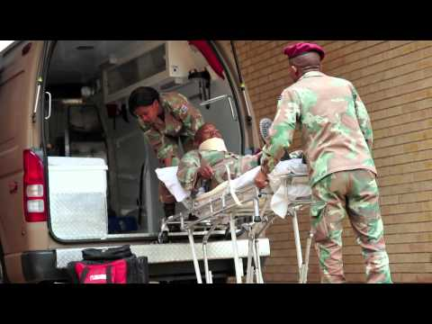 SOUTH AFRICAN NATIONAL DEFENCE FORCE MUSIC VIDEO VERSION 1