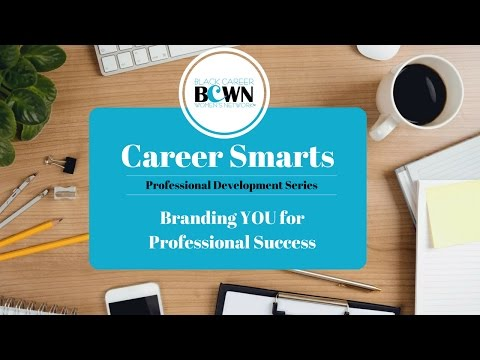 Branding YOU for Professional Success - Virtual Workshop