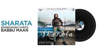 Sharata - Babbu Maan | Official Audio