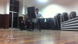 Six Ideas for Snare Drum, Bass Drum, & Cymbal by Dave Hollinden