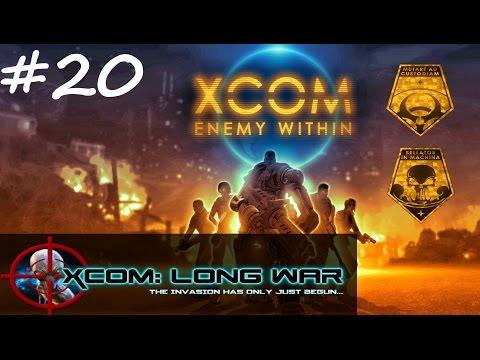 Let's Play XCOM: Long War - Ep. 20 - Tactical Panic!