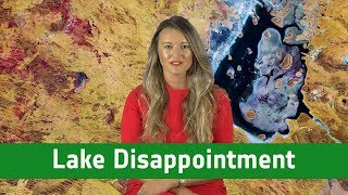 Earth from Space: Lake Disappointment