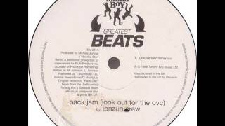Jonzun Crew - Pack Jam (Grooverider Remix)