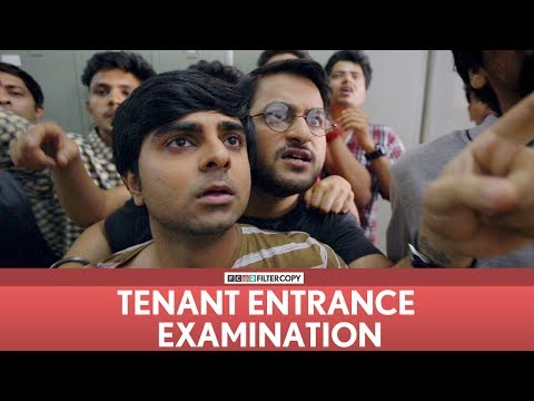 FilterCopy | TEE - Tenant Entrance Examination (Sketch) | Ft. Veer Rajwant Singh, Akash Deep Arora