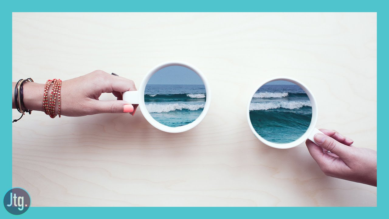 Photoshop CC Tutorial: How to Create an Ocean Cup Photo Manipulation