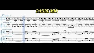 Padre Mio Partitura 2 Trompetas 2 Saxofones Youtube