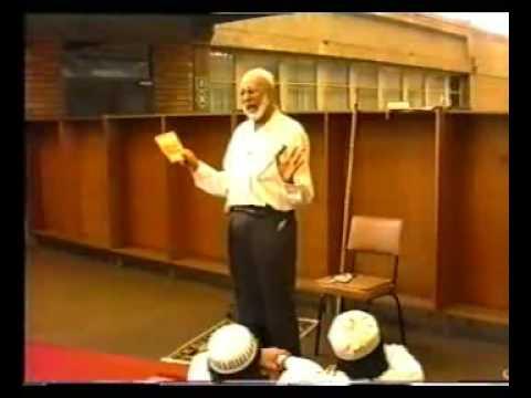 Ahmad Deedat... Pre-Khutbah talk at University of Natal 4 of 5
