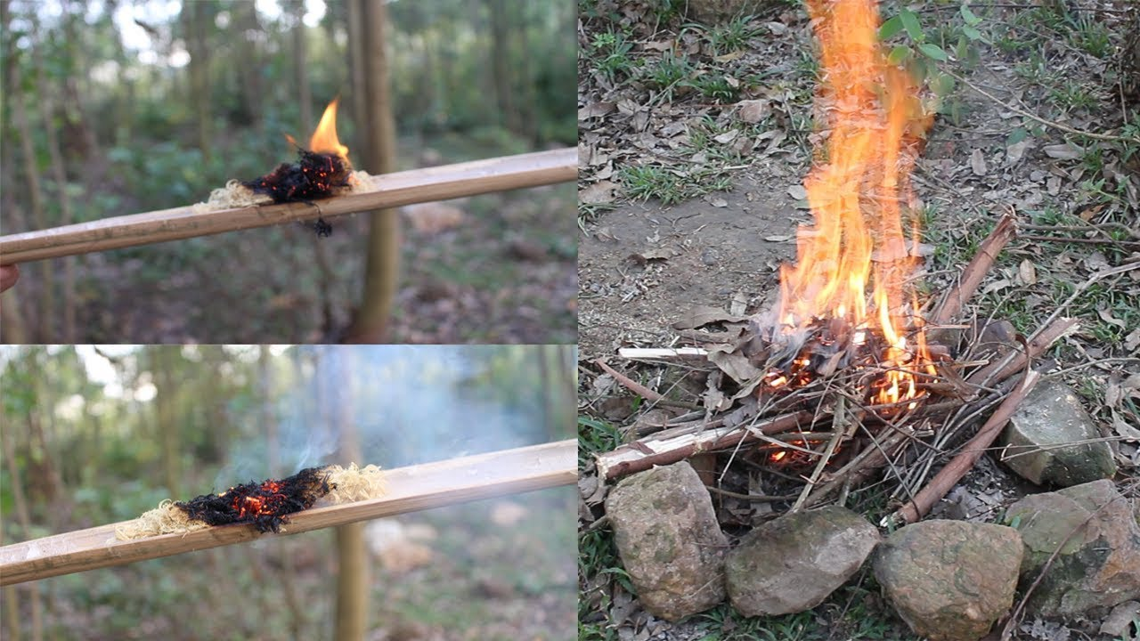 Primitive Technology: 3 Ways to Make Fire
