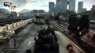 Dead Rising 3 Gameplay Video - Run Over Zombies