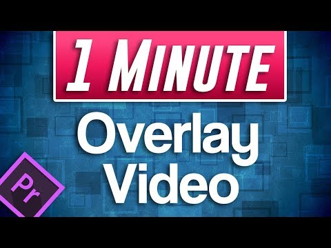 QUICK Overlay Video Tutorial in Premiere Pro (Video in Video)