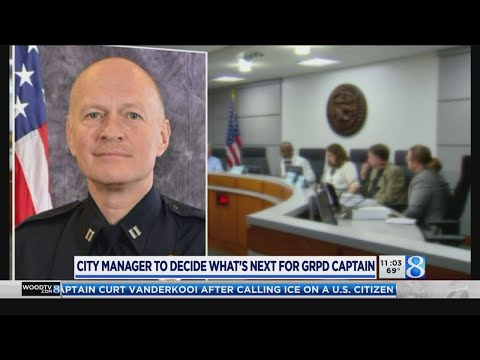 City Manager To Decide What's Next For GRPD Capt.